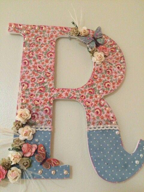 124 mejores im genes sobre letras decoradas en pinterest - Letras para adornar ...