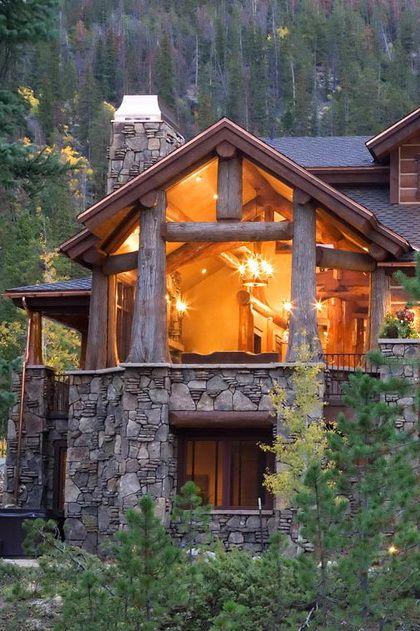 Edgewood custom log homes my blog for My custom home