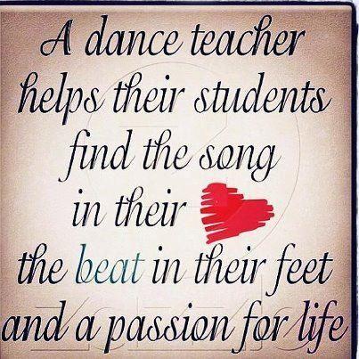 This would make a cute gift for a dance teacher.