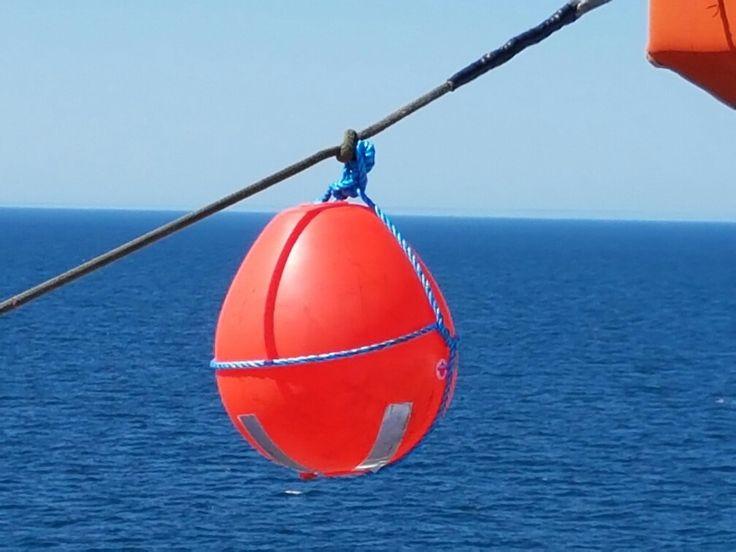 Buoy off Fishguard