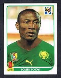 Image result for 2010 panini cameroon tchoyi