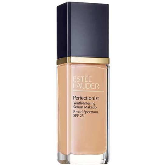This medium-coverage foundation is infused with the technology found in the brand's anti-aging serum. The result: a highly blendable, skin-brightening formula that glides over lines and wrinkles.