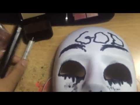 How To Make The Purge Anarchy God Mask Youtube Order