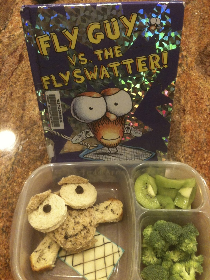 327 best book themed lunches for kids images on pinterest book keithas chaos fly guy vs flyswatter lunch real food recipesreal forumfinder Gallery