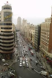 main street Gran Via of Madrid, Madrid is different, culture, joy, 365 days 24 hours of life on the street. www.rttm.es