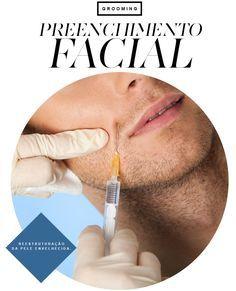Preenchimento facial para homens. Saiba tudo neste post!