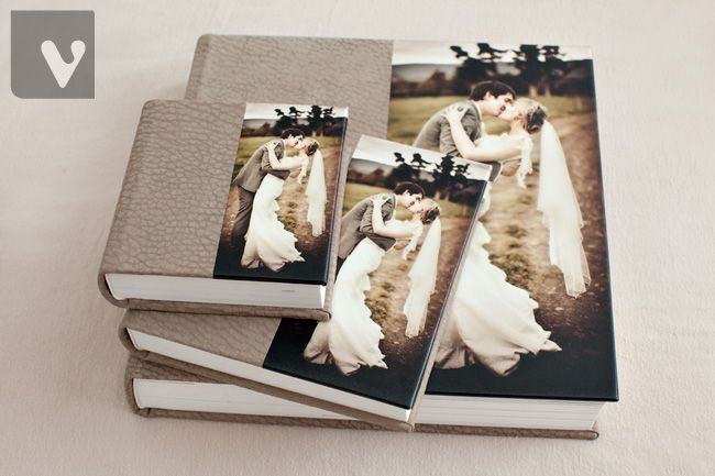 Queensberry Wedding Album   Vibrant Photography - Tim & Genevieve's album with Brown Contemporary Leather cover & duplicate parent albums - www.queensberry.com