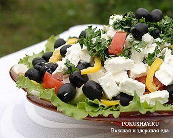 Такой разный «греческий салат»
