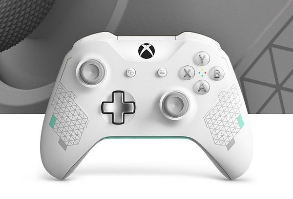 Microsoft Debuts Xbox Wireless Controller Sport White Special Edition And Controller Gear Sp Xbox Wireless Controller Xbox One Controller Wireless Controller