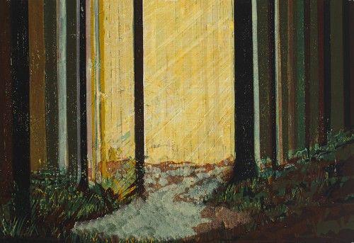 Bernadette Madden: Woodland, screenprint,  €375