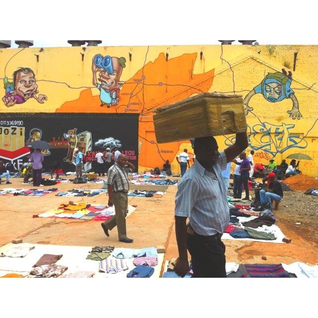 Bree street market- Johannesburg CBD