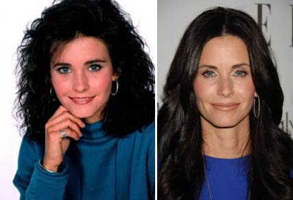 Courtney Cox has aged so gracefully! GORGEOUS!