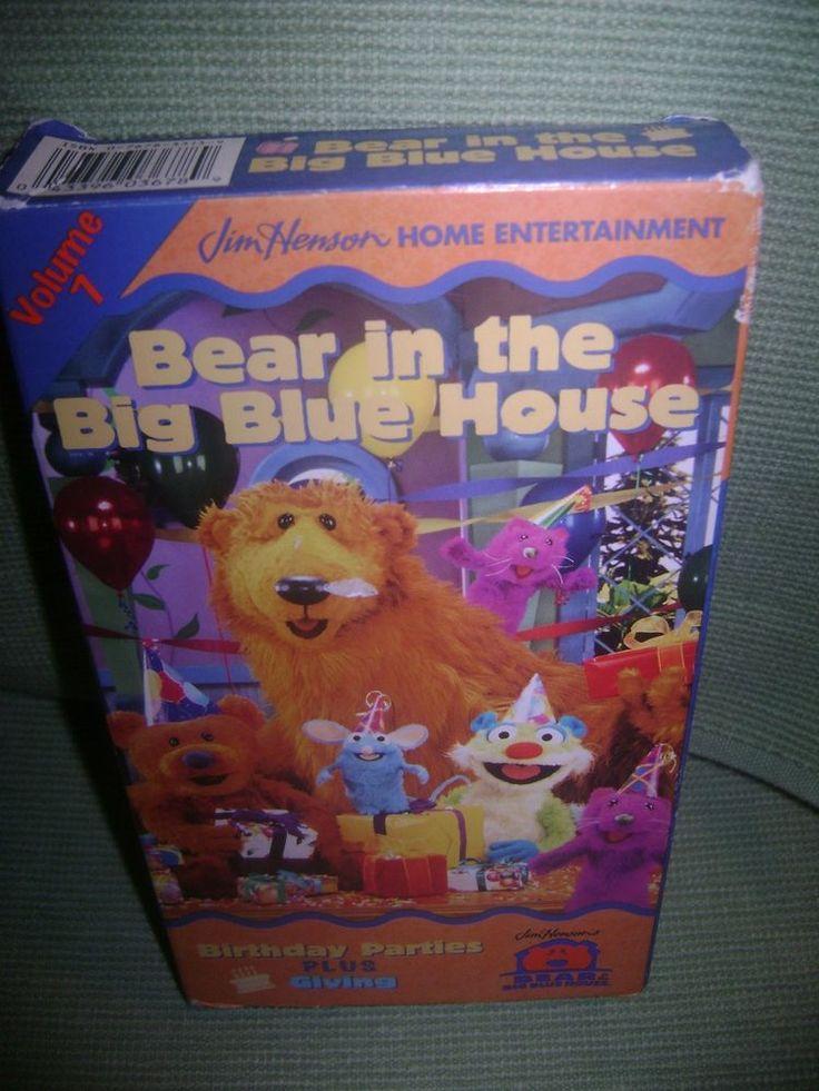 Bear Volume Big House Vhs Blue 2 8 Vhs