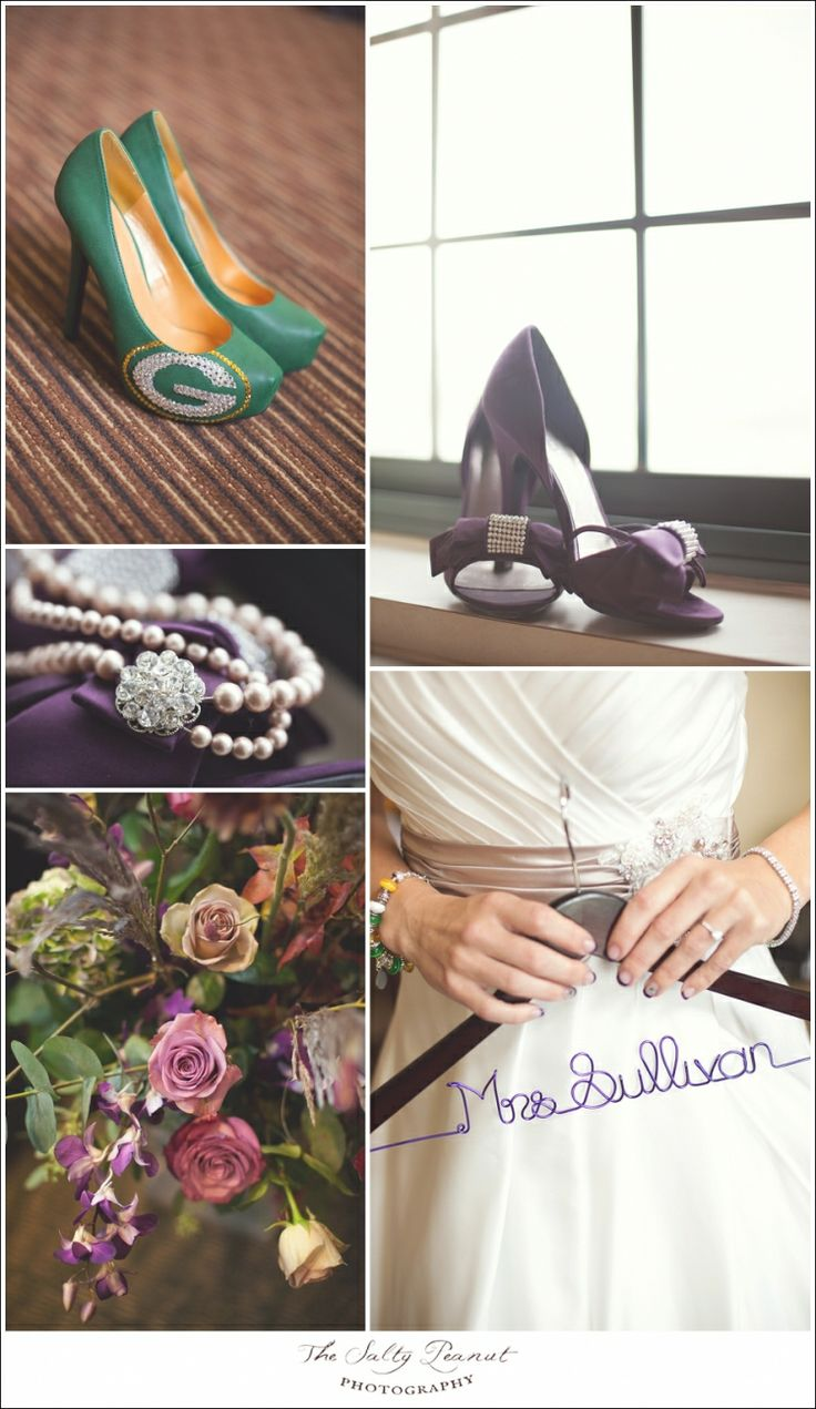 green bay packers wedding details