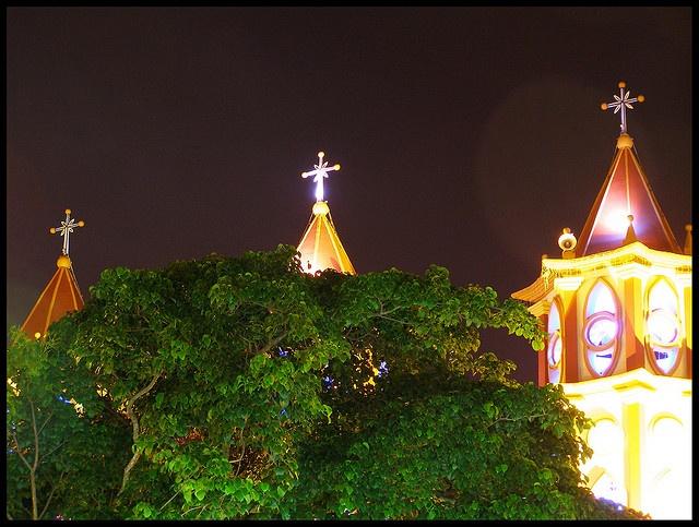 Las tres torres Iglesia San Pedro, Seboruco, Municipio Seboruco, Estado Táchira, Venezuela.
