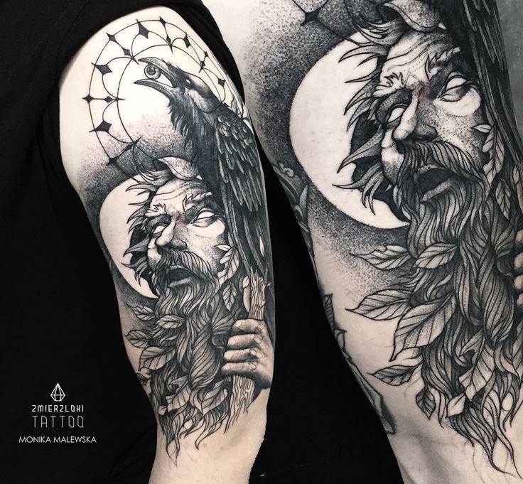 Old man tattoo on Behance