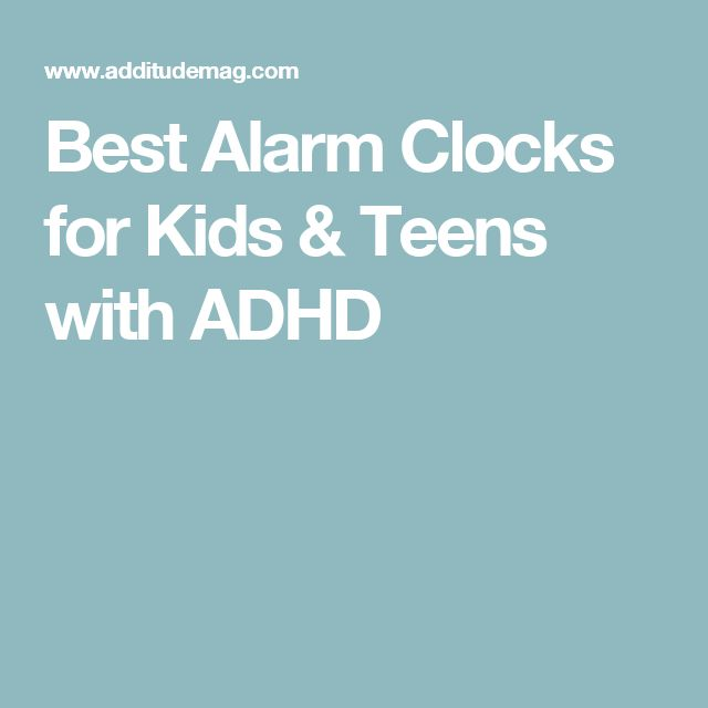 Best Alarm Clocks for Kids & Teens with ADHD