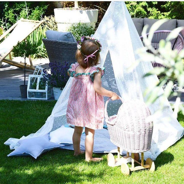 Moc niezwykłych przygód w letnim namiocie tipi! Idealny do zabaw w ogrodzie :)