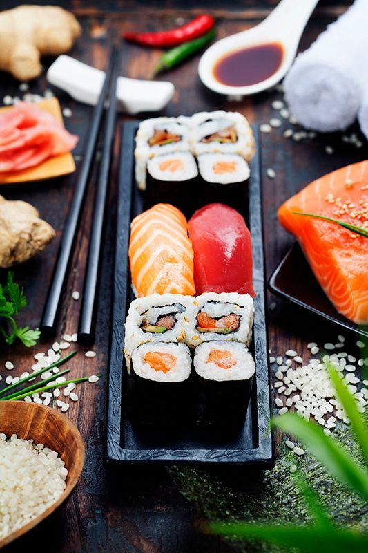 sushi by Natalia Klenova on 500px                                                                                                                                                                                 More