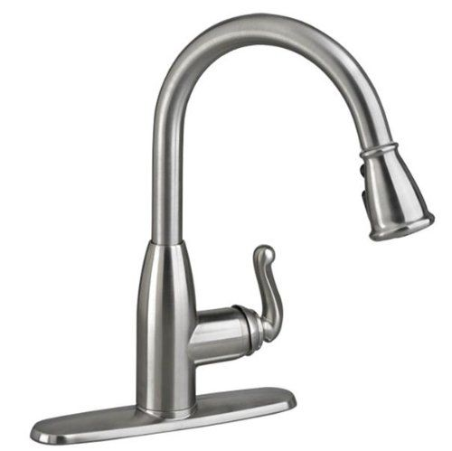 American Standard Symphony  Handle Pull Down High Arc Kitchen Faucet