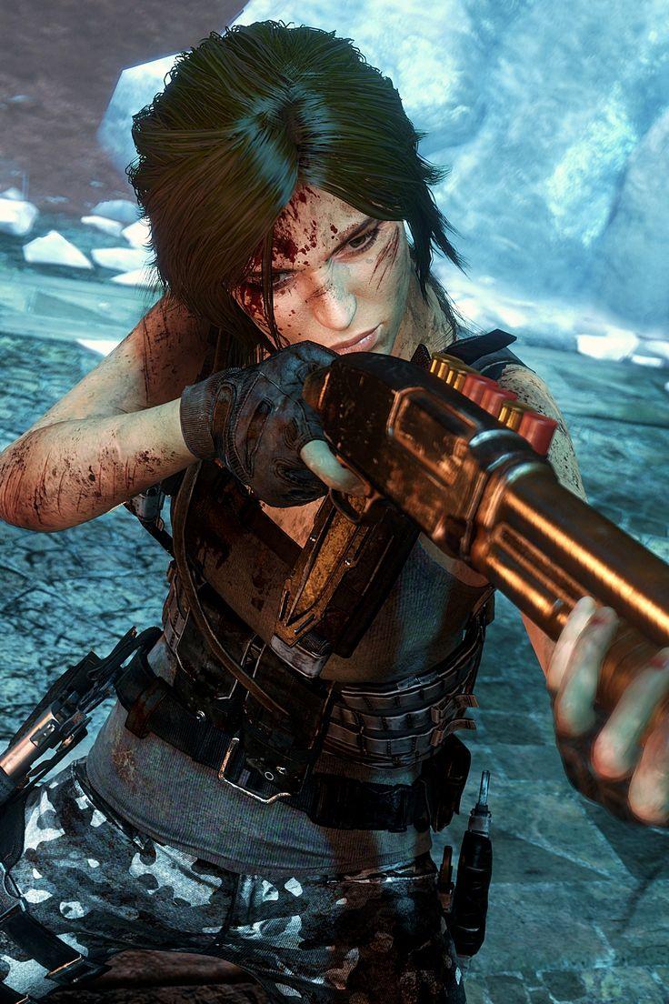 Lara Croft (Gamer Gadgets Plays)