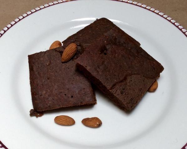 Receta de Brownies sin horno