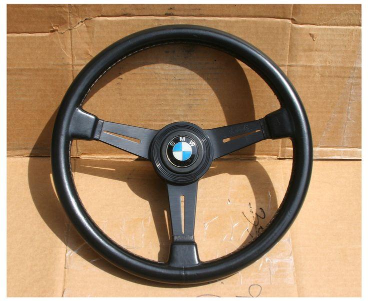 Vintage Nardi Personal Steering Wheel Bmw 1600 2002 Tii E9