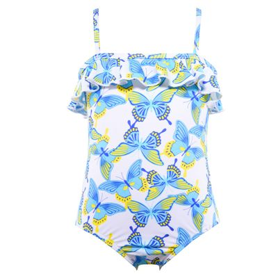 Butterfly Kisses Frill One Piece