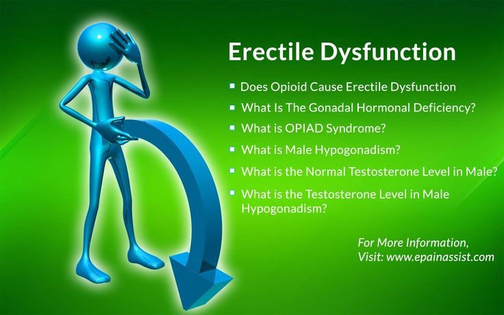 Does Opioid Cause Erectile Dysfunction? Read: http://www.epainassist.com/question-and-answer/erectile-dysfunction-does-opioid-cause-ed