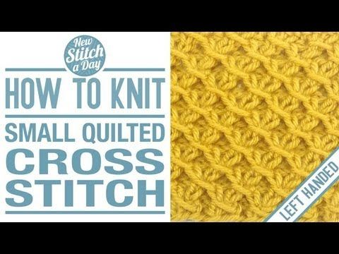 1000+ images about Knitting Stitches on Pinterest The smalls, Left handed a...