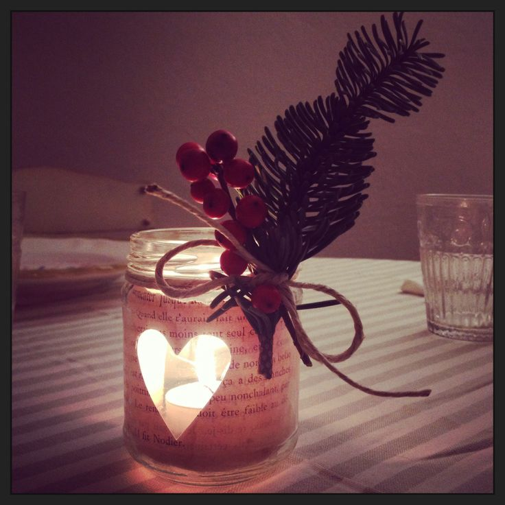 tea light handmade