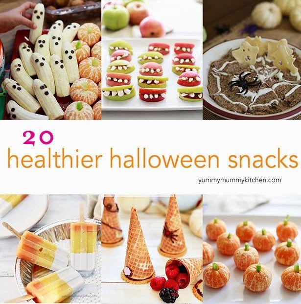 Healthy Halloween Snacks and Recipes
