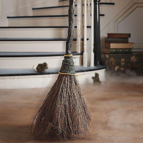 Animated Sweeping Broom