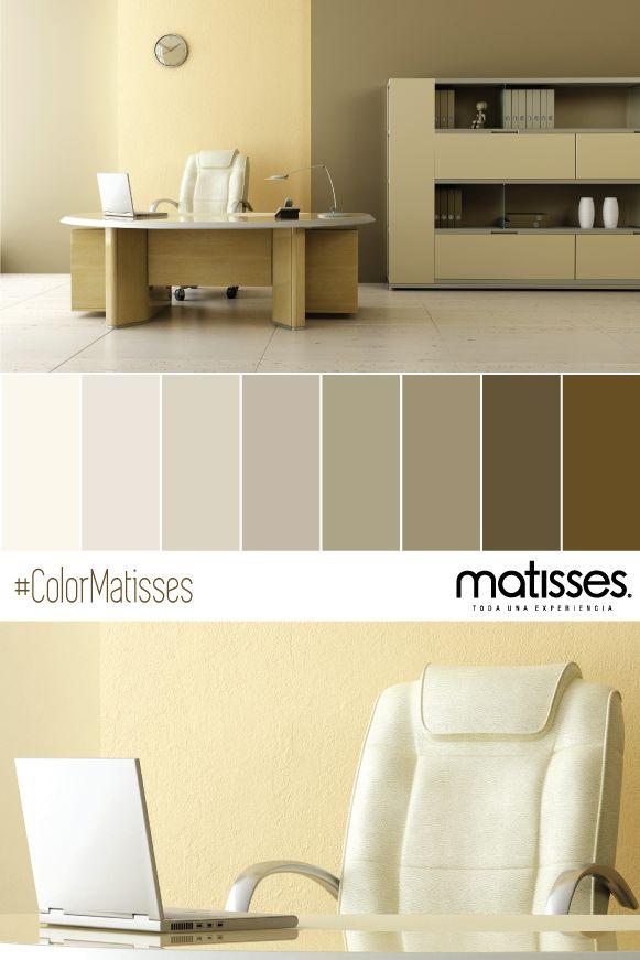 Los colores c lidos son los m s apropiados para habitaciones y oficinas por su cualidad de - Paleta de colores para paredes interiores ...