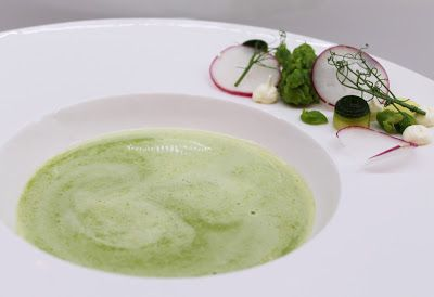 Ninnin Köökki: Crème ninon - French green pea soup