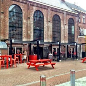 Echt Haarlems bier in de Jopenkerk #terras #jopenkerk #haarlem