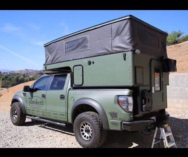 Truck Campers: Bugout Vehicles