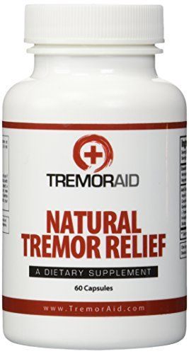 Tremoraid Natural Essential Tremor Relief Supplements - Effective And Powerful Help for Shaky Hands, Arm, Leg, Soothe Essential Tremors Pills (60 Capsules) //Price: $32.99 & FREE Shipping //