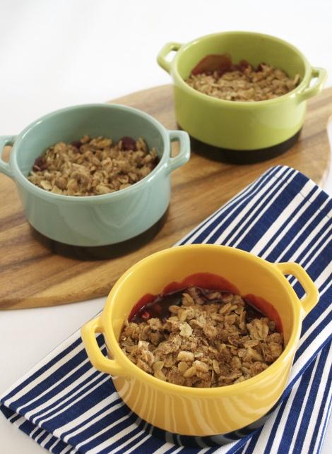 Cherry Almond Oatmeal Crisp | Recipe