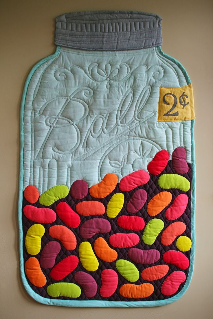 Jelly Bean Mason Jar Quilt 29 X 51 Quot For The Vancouver