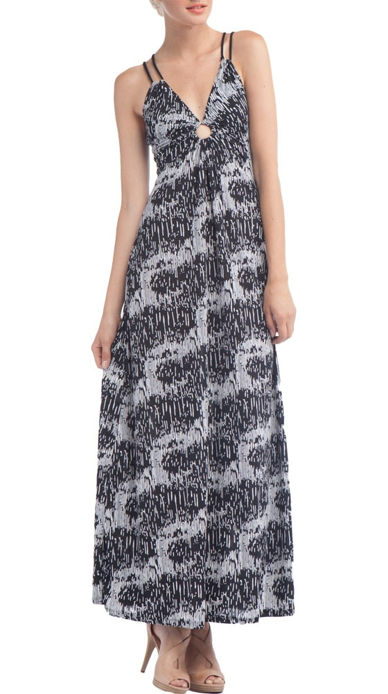{O-Ring Maxi, Frenzy Print} by Soul Revival