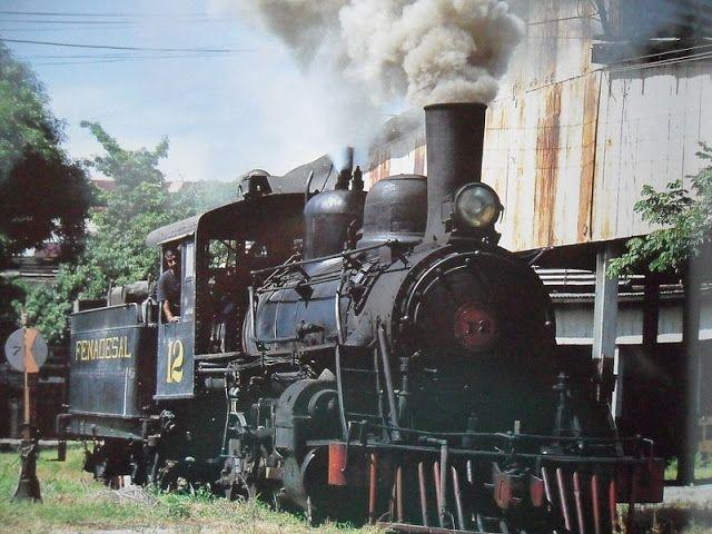 Fotos de locomotoras antiguas en El Salvador   Guía turística. Decameron El Salvador, San Salvador, Cinemark El Salvador, pupusas