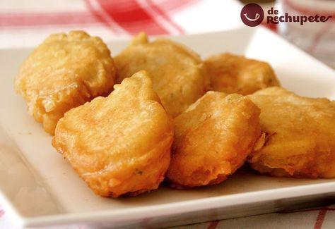 Te gustan los Soldaditos de Pavía? Son unas delicias de bacalao famosas en Madrid, te animas? http://www.recetasderechupete.com/soldaditos-de-pavia-delicias-de-bacalao/13508/ #receta