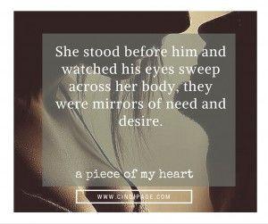 A Piece of My Heart Romance Novel by Cindi Page