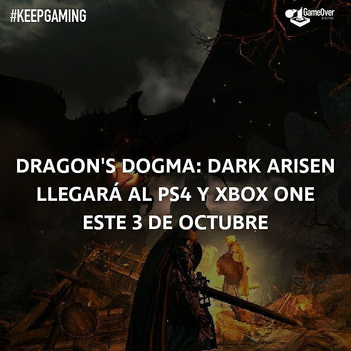 Ya tenemos fecha de lanzamiento para Dragon's Dogma: Dark Arisen! #DragonsDogma #DarkArisen #PS4 #XboxOne #Gaming #RPG #Capcom