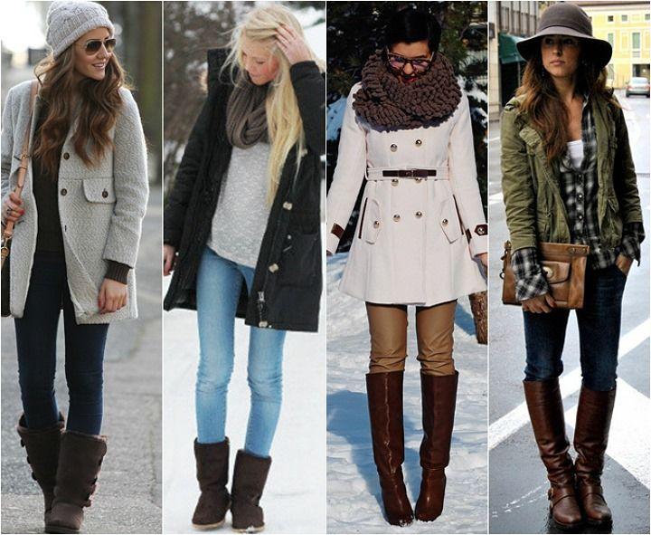 Como se vestir nos dias de frio intenso! Dicas pra montar looks práticos e elegantes. 02