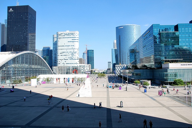 Experience modern style France at La Defense