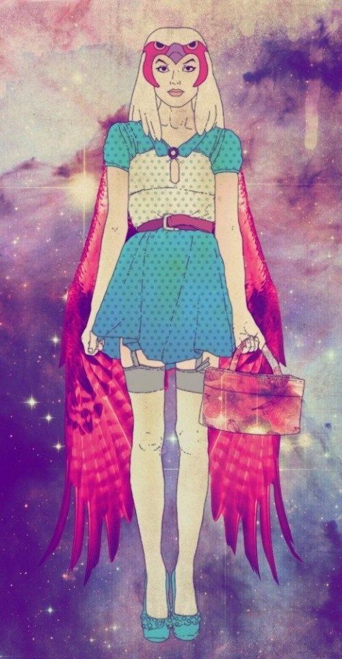 Hipster Sorceress