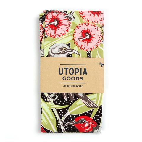 Flowering Gum Napkin - Black