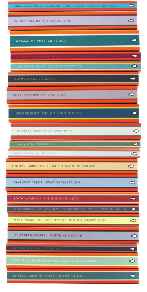 Penguin English Library. Year: 2012. Size: B format paper back - 198mm x 129mm. Designed by Coralie Bickford-Smith